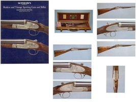 Sothebys 1989 Modern & Vintage Sporting Guns and Rifles auction catalog - $11.38