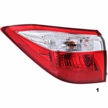 FITS 14-15 TOYOTA COROLLA LEFT DRIVER TAIL LAMP ASSEMBLY QUARTER MOUNTED - $72.95