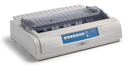 Okidata ML421n Dot Matrix Printer Oki Impact Printer 62418803