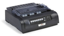 Okidata Printer Microline ML420n Dot Matrix Printer Black 91909704 - $634.73
