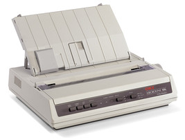 Okidata ML186 Dot Matrix Printer 62422301 - $278.06