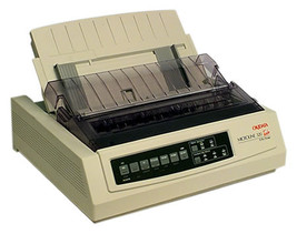 Okidata Microline ML320 Turbo Dot Matrix Printer with Cut Sheet 62411603 - $602.46