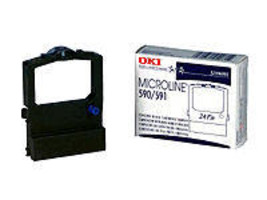 Oki Okidata ML590 ML591 Black Printer Ribbon Genuine 52106001 - $13.29