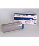 Oki C830n C830dtn C830dn Cyan Toner Cartridge Genuine 44059111 - $160.61