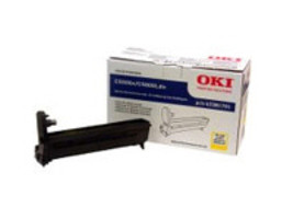 Oki C6000 C6050 Yellow Image Drum 43381757 - $77.93