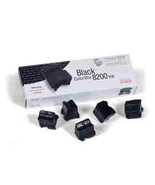 Xerox Phaser 8200 Black ColorStix 5 Sticks 016-... - $117.02