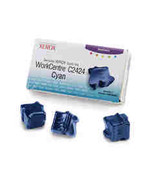 Xerox WorkCentre C2424 Cyan ColorStix 3 Sticks ... - $116.00