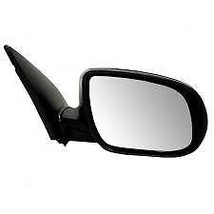 Fits 10-11 Accent Right Passenger Mirror Power Non-Painted Black - $55.95