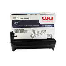 Oki C610 Black Image Drum 44315104 - $70.40