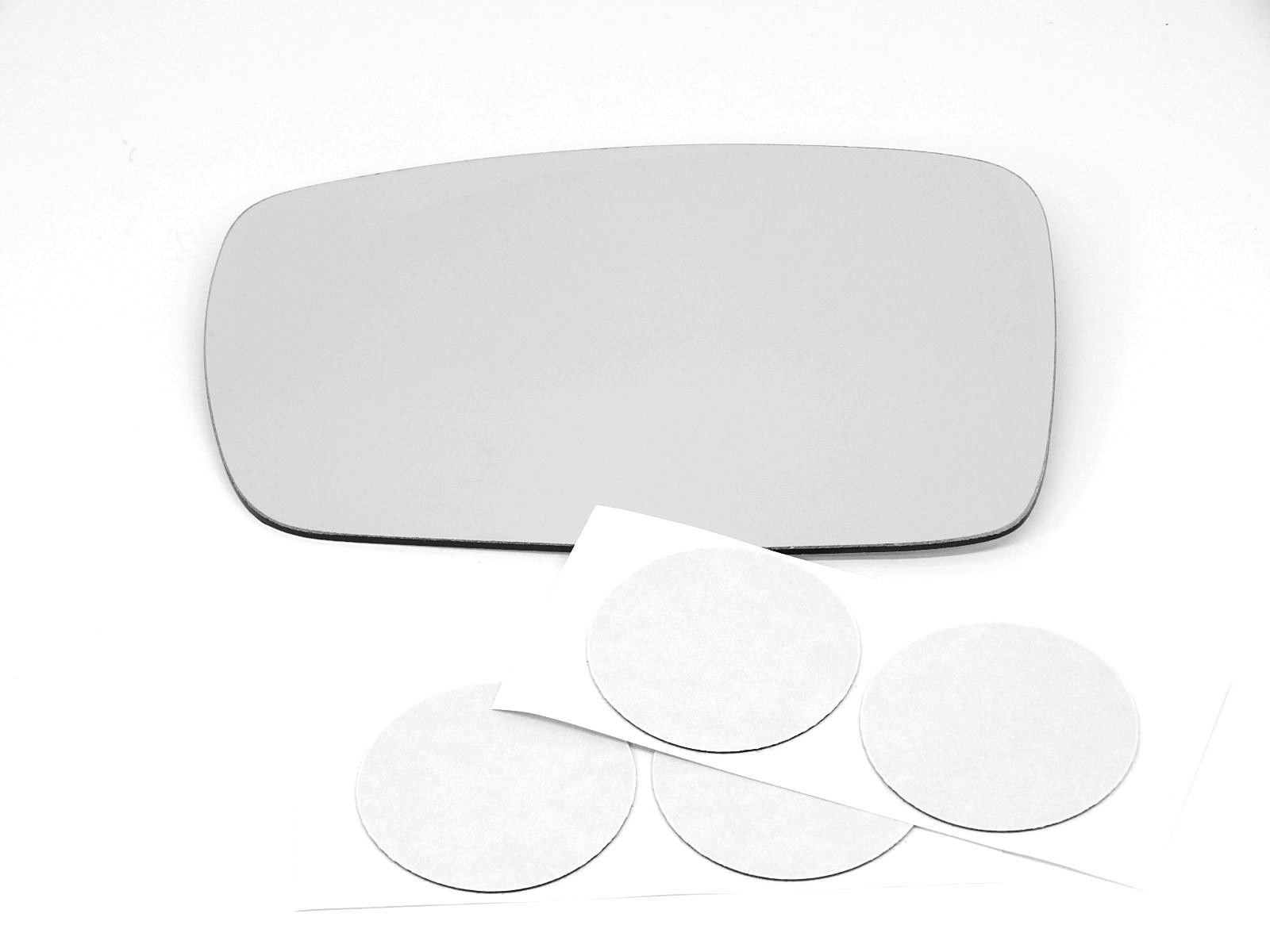 Fits 04-10 Nis Quest Right Passenger Convex Mirror Glass Lens w//Adhesive USA
