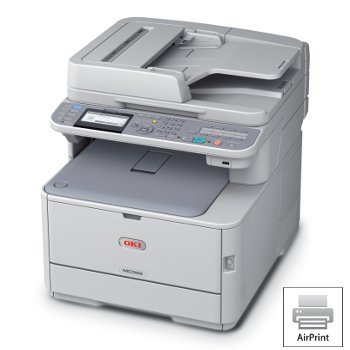 MC362w MFP LED Color Multifunction Laser Printer Copier by Oki 62441804