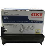 Oki C610 Yellow Image Drum 44315101 - $75.31