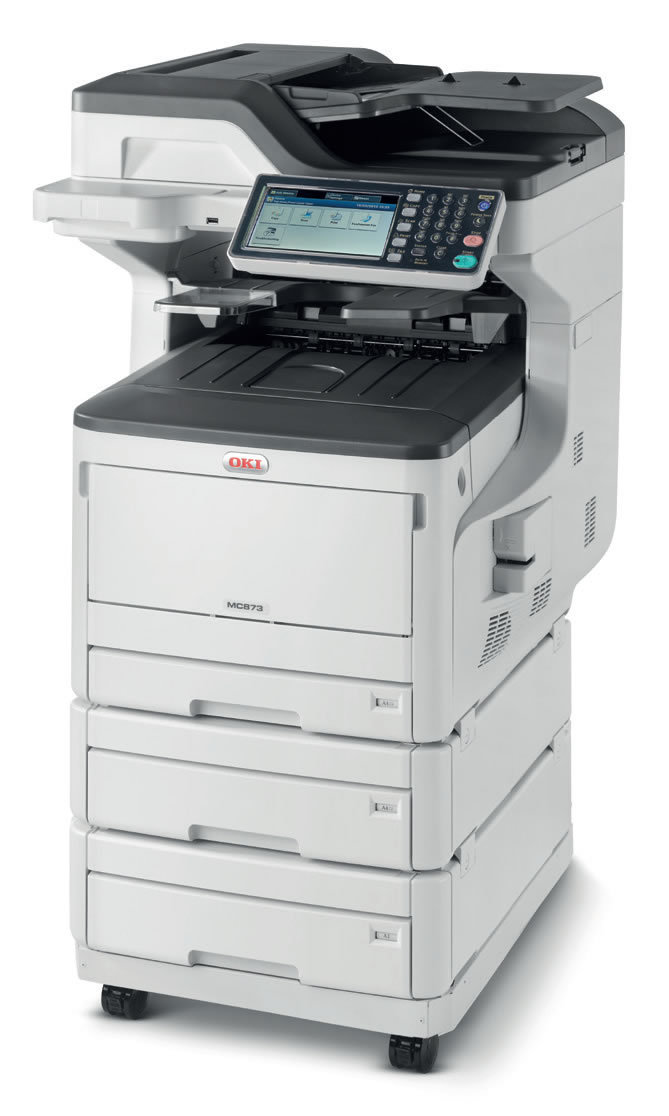 Oki Color Laser Printer MC873dnx Multifunction MFP LED Printer 62445303