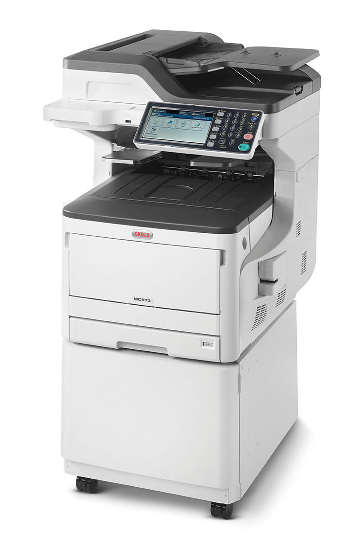 Oki Color Laser Printer MC873dnc Multifunction MFP LED Printer 62445305