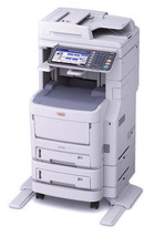 Okidata MC780f+ MFP Color Multifunction Color Laser Printer 62446305 - $4,087.84