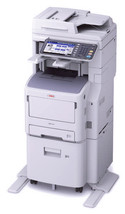 Okidata MB770fx+ MFP Multifunction Laser Printer 62446107 - $3,407.20