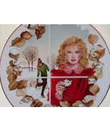 Collector Plate, Winter's Dream by Artist Gloria Eriksen, American Legac... - $15.00
