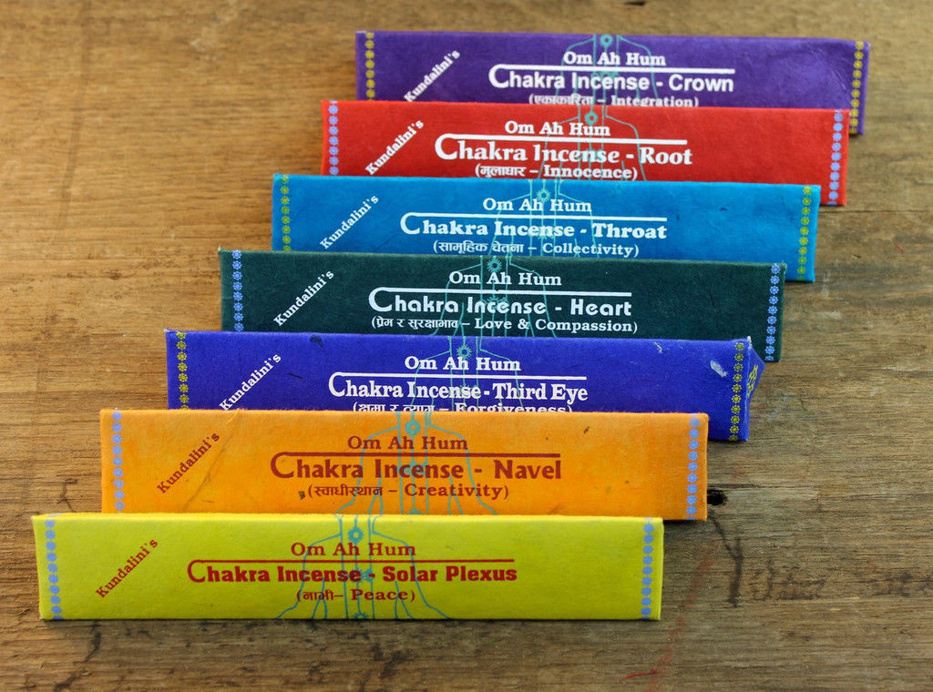Primary image for OM AH HUM Tibetan 7 in 1 Chakra Incense Stick, Nepal