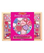 Melissa & Doug Created By Me! Heart Beads Wooden Bead Set (Jewelry-Makin... - $9.99