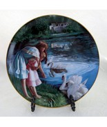 """Collector Plate, """"Ladies of the Lake"""" by artist Janette O'Neil, Winston ... - $25.00"""
