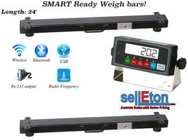 """New (24"""") 10,000b x 1 lb Multi-purpose weigh bars / Livestock Scale / Cage - $673.88"""