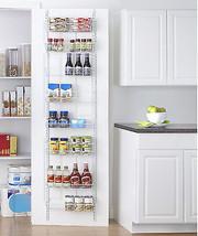 Adjustable Over the Door Rack 8 Shelves Kitchen... - $51.26