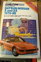 Chilton Repair Manual Datsun/Nissan Z and ZX 1970-88 - $8.90
