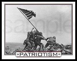 Patriotism Photograph Picture Plaque (8X10) Print-Military-World War 1-F... - $7.95