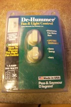NOS 94315-IV Pass & Seymour Legrand Dual De-Hummer Dimmer 3 Speed Fan Co... - $12.86