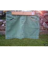 WOMENS JUNIORS SIZE 2 AMERICAN EAGLE GREEN JEANS SKIRT* - $9.90