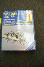 haynes nissan datsun sentra 1982 thru 1990 auto repair manual - $16.82