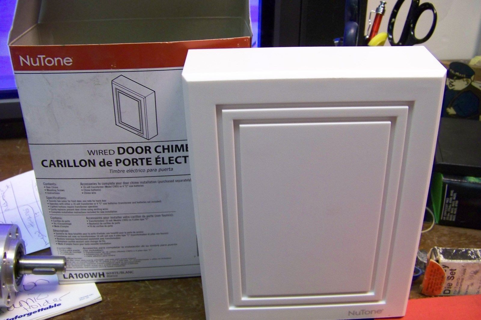 NuTone Wired Door Chime: 1 listing