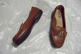 89951b98ff1 womens thom mcan gwyn brown leather slip on loafers shoes size 6 1 2 w