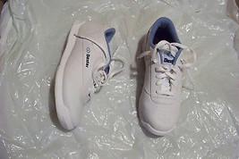 womens dexter white lace front bowling shoes size 8 2w - $32.66