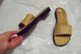 855deafec840b4 womens colin stuart nutmeg skin print band sandals shoes size 8.5 9 -  18.79