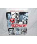 GREY'S ANATOMY The Complete Second Season UNCUT DVD Box Set NEW! From 2006 - $29.96