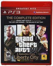Grand Theft Auto IV & Episodes from Liberty City: The Complete Edition T... - $18.81