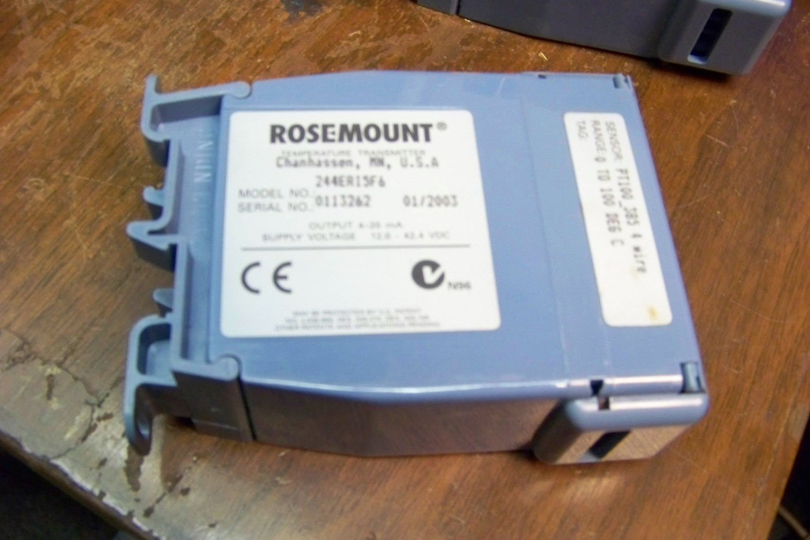 rosemount 244eri5f6 temperature transmitter and similar items