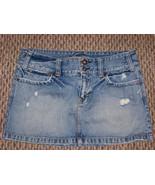 womens american eagle denim jeans skirt size 8 32 - $15.83