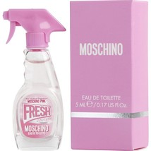 Moschino Pink Fresh Couture By Moschino Edt .17 Oz Mini - $20.33