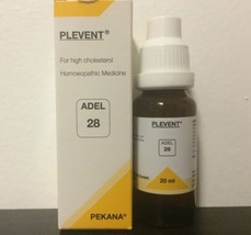 Adel Homeopathy Germany Drops 28 - For High Cholesterol - $8.59