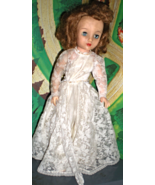 Revlon Doll - Vintage 1950's Revlon Doll in Wedding Dress - $54.95