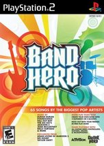 Band Hero Stand Alone Software - PlayStation 2 ... - $3.26
