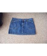 womens tommy hilfiger medium wash denim mini jeans skirt size 9 30 - $16.82