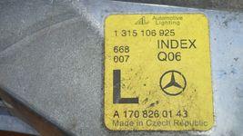 97-04 Mercedes SLK230 SLK320 R170 Parking Corner Light Lamps Set Pair L&R image 7