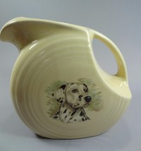 Fiesta Large Ivory Disc Pitcher w/ Dalmation Fiesta Ware NEW HLC - $32.71