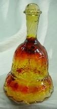 """Boyd 6"""" Santa Bell Crimson Red Glass Christmas Bell - $23.36"""