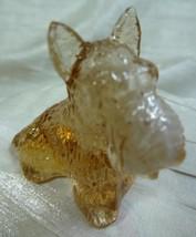 Duke Scottie Scottish Terrier Dog Bronz Slag Glass 11/18/2005 - $15.88