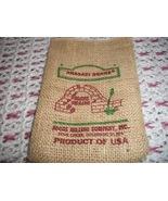 Small Burlap Anasazi Bean Bag: NO Beans Included - $5.00