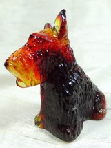 Duke Scottie Scottish Terrier Dog Crimson Glass 11/18/2009 - $16.82